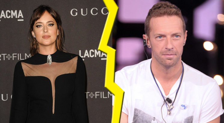 Sta se razšla tudi Dakota Johnson in Chris Martin?