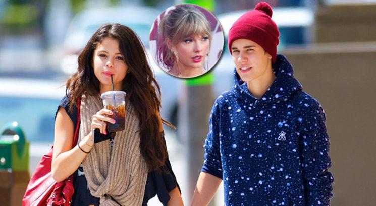 Je Taylor Swift pravkar razkrila, da je Justin Bieber prevaral Seleno Gomez?