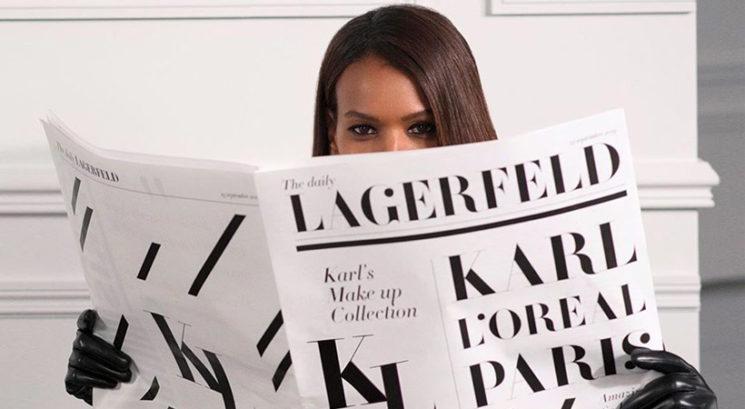 Pozor, pozor! Prihaja kolekcija L'Oréal Paris x Karl Lagerfeld