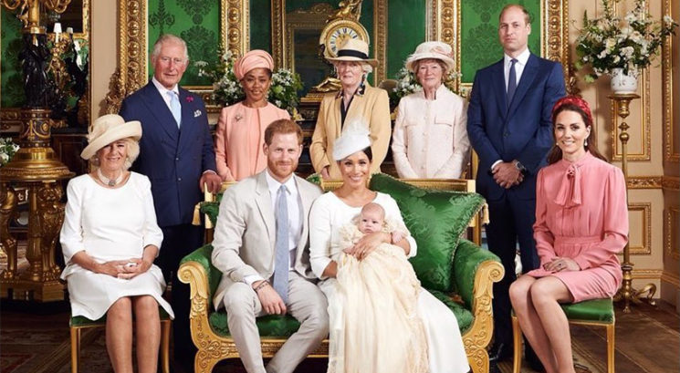 Archie Harrisonov krst poln spominov na princeso Diano