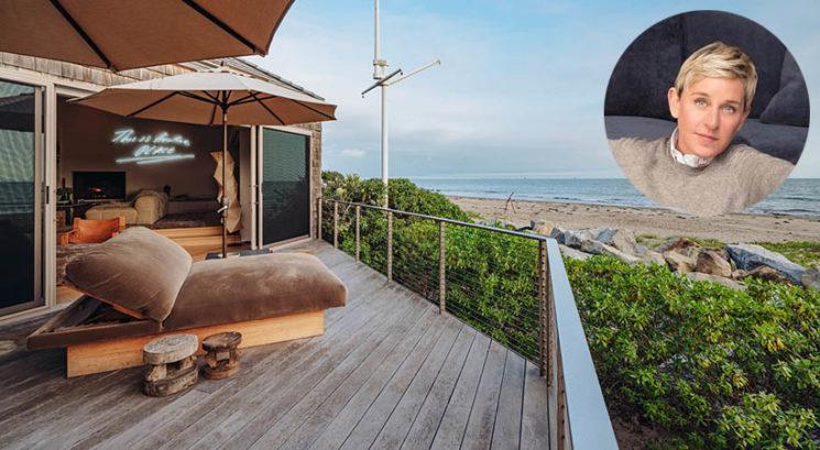 Kalifornijske sanje: Ellen DeGeneres prodaja obmorsko vilo za 24 milijonov dolarjev