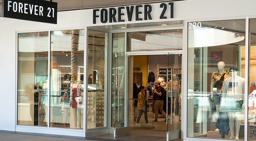 Priljubljena modna znamka Forever 21 na robu bankrota!