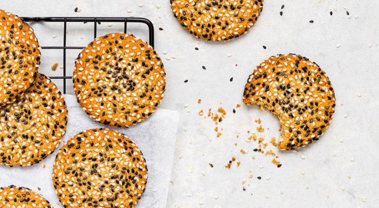 Hitro in enostavno: Veganski tahini piškoti