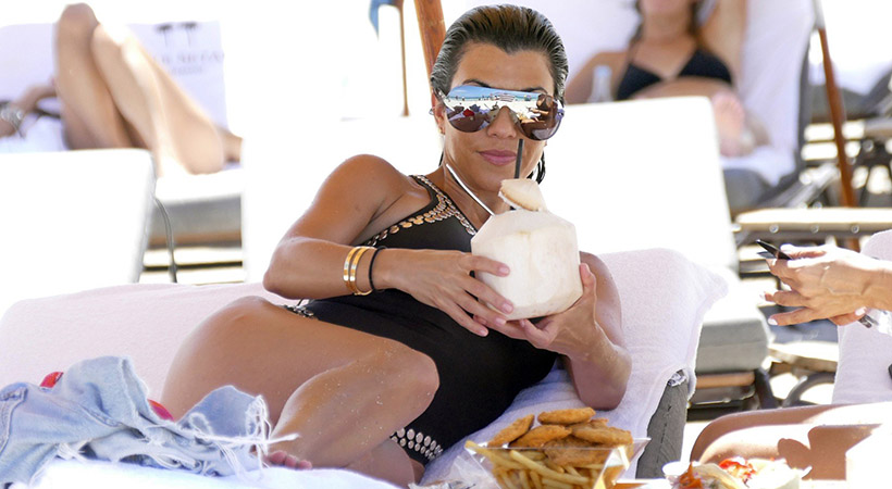 Kourtney Kardashian razkrila, katera živila uživa za fit postavo