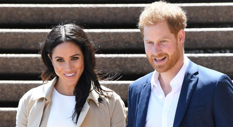 Meghan Markle in princ Harry zaradi sina Archija prekršila še eno kraljevo pravilo