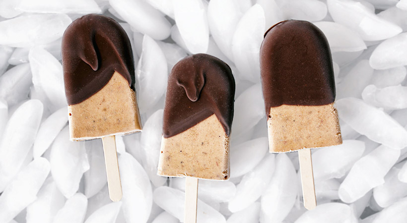 Poletni okusi: Tiramisu sladoledne lučke (brez sladkorja)