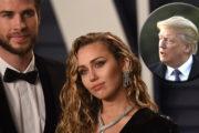 Razkrito, kaj je Donald Trump leta 2013 tweetnil Miley Cyrus o Liamu Hemsworthu