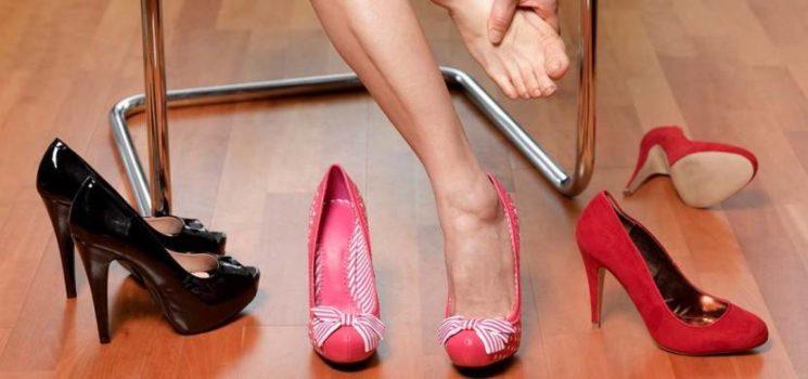 Kako veš, da te bodo novi čevlji s peto ožulili
