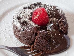 Slasten recept: Keto lava tortica