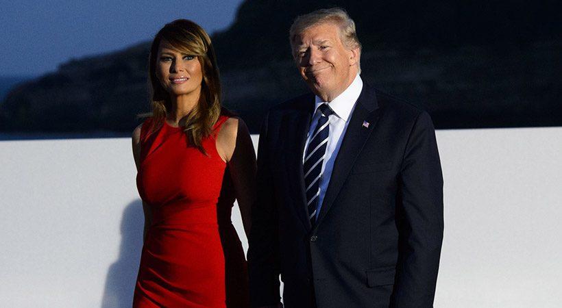 Splet navdušen nad potezo Melanie Trump! Kaj pa Donald?
