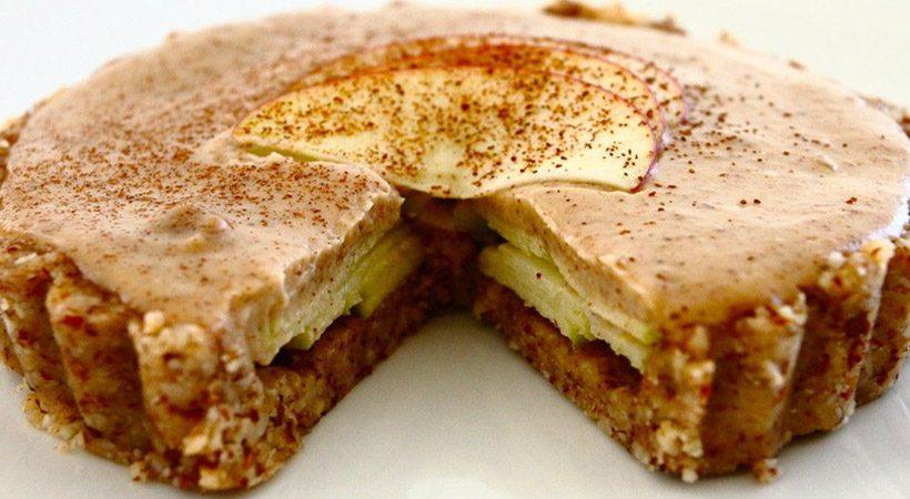 Slastno in zdravo: Presna karamelna jabolčna pita