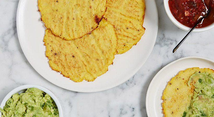 Po mehiško: Cvetačne tortilje