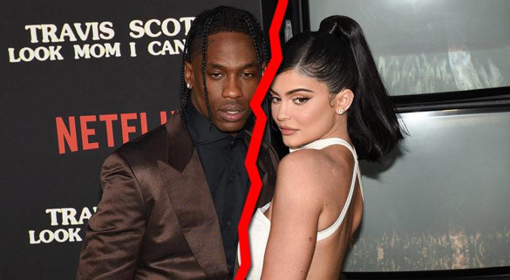 Konec je! Razšla sta se Kylie Jenner in Travis Scott