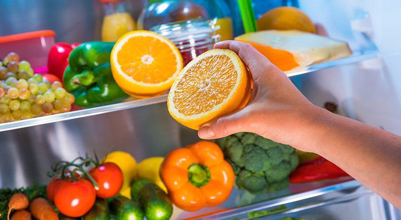 To stvar postavi v hladilnik, če si želiš dlje časa sveže sadje in zelenjavo