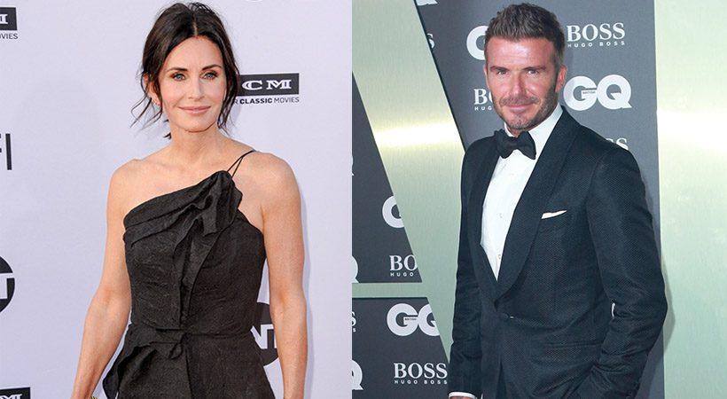 Kaj se dogaja med Courteney Cox in Davidom Beckhamom?