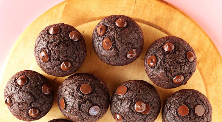 Veganski recept: Čokoladni muffini iz rdeče pese