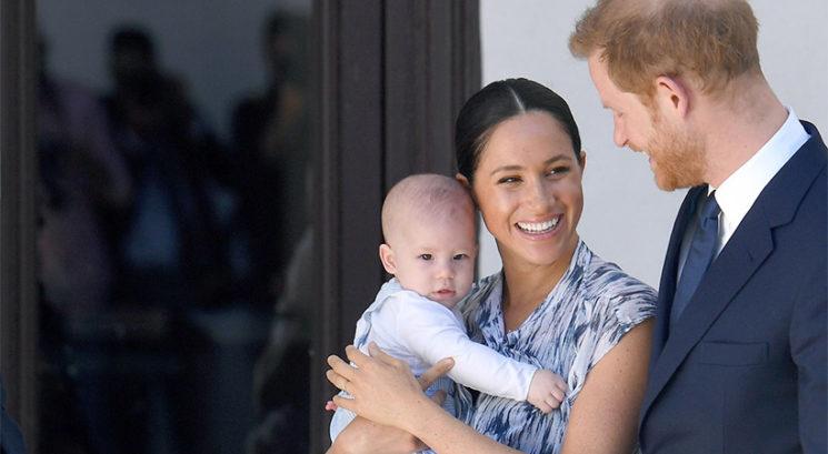 UAAAU! Poglej, kako velik je že sin Meghan Markle in princa Harryja