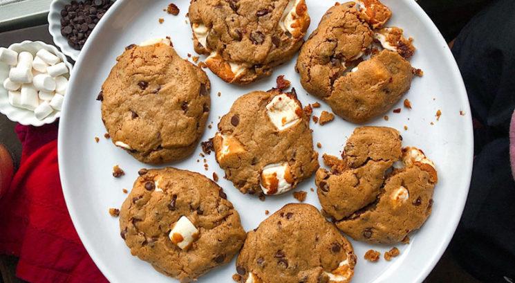 Brezglutenski recept: Zdravi piškoti z marshmallow penicami