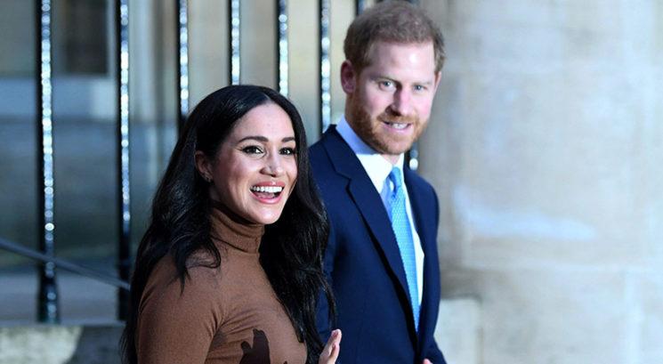 Meghan Markle in princ Harry prvič letos stopila v javnost