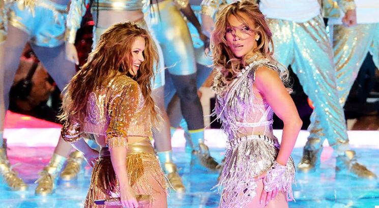 Kamere ujele, kaj je J.Lo naredila Shakiri takoj po nastopu na Super Bowlu!