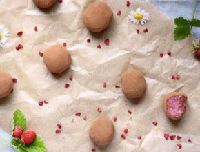 Veganski recept: Jagodno-čokoladni truffli