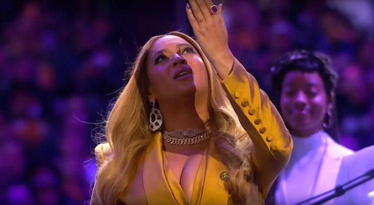 ZATO Beyoncé ni dovolila, da se jo fotografira na žalni slovesnosti za Kobeja Bryanta