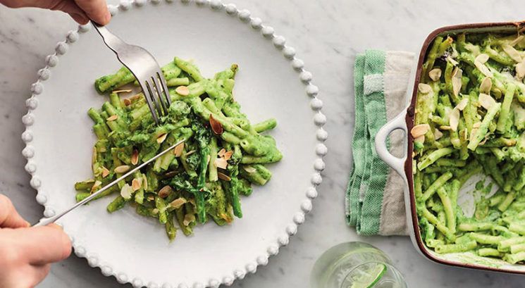Recept: Zeleni makaroni s sirom