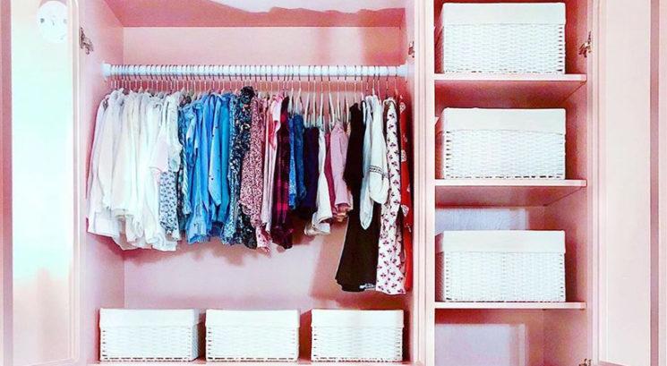 Kako najbolje organizirati manjšo omaro