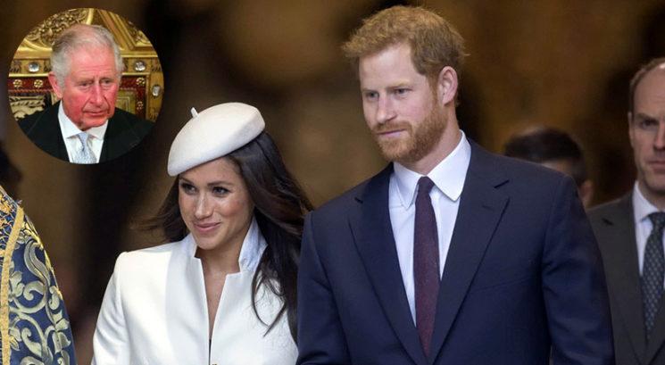 Meghan Markle in princa Harryja zdaj rešuje princ Charles