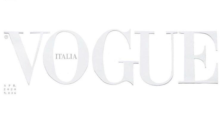 Revija Vogue prvič s prazno naslovnico