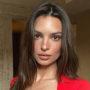 Emily Ratajkowski sijočo kožo na obrazu ohranja z minimalistično negovalno rutino