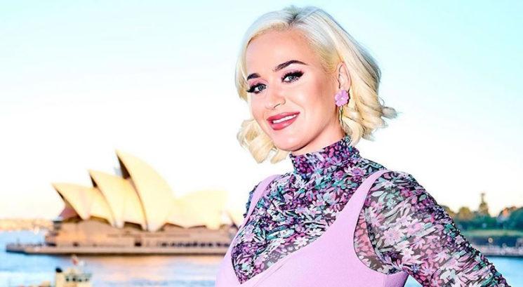 Noseča Katy Perry razkrila, kakšno zabavno obleko bi nosila na letošnji Met Gali