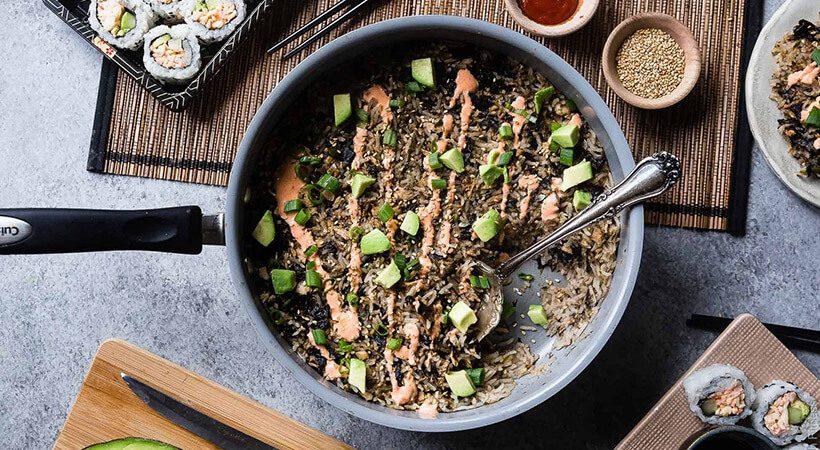 Recept: Tunina enolončnica z rižem