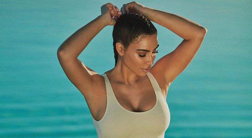 Kim Kardashian razkrila, kako preko naličenega obraza nanese zaščitni faktor