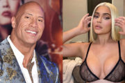 Igralec Dwayne Johnson s prestola zrinil Kylie Jenner