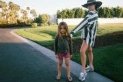 Sin Kourtney Kardashian Reign pobril svoje dolge lase